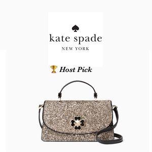 Kate Spade Odette Glitter Mini Crossbody Bag